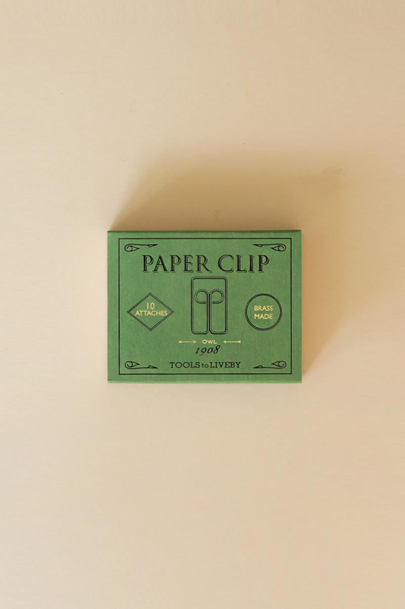 Gem Paper Clips Owl