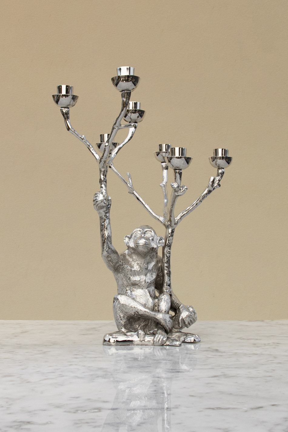 Monkey Candle Stand