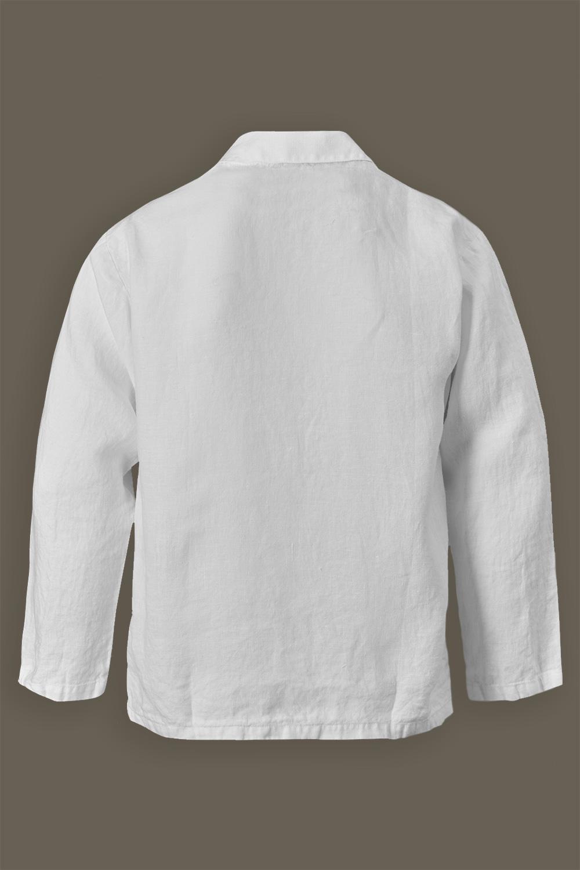 Pyjamasskjorta White Linen