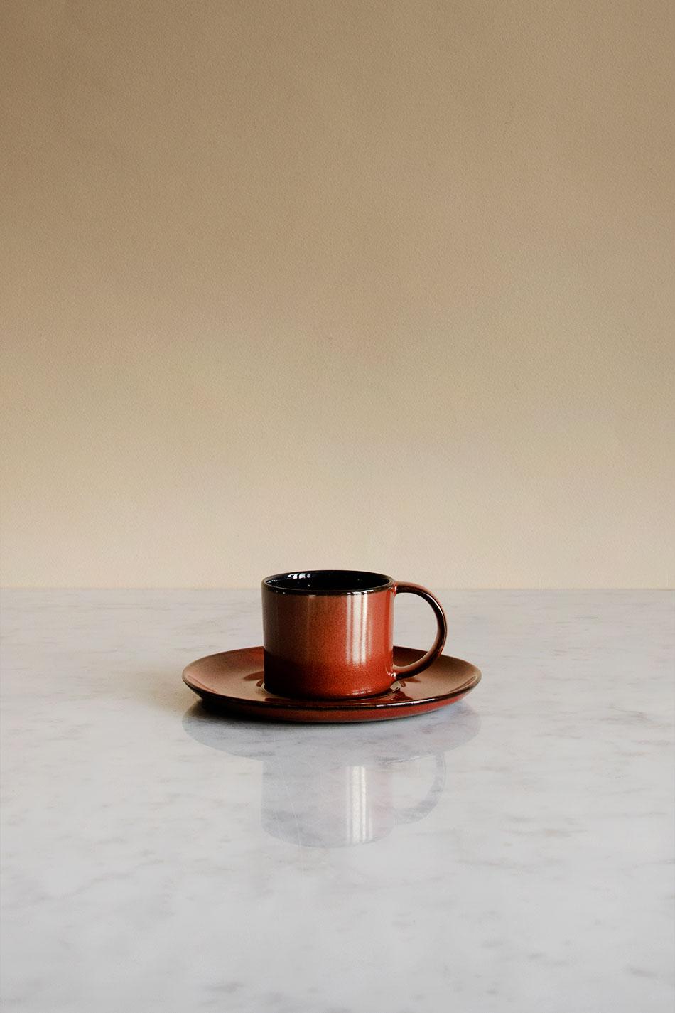 Le Cadere Espresso Rust