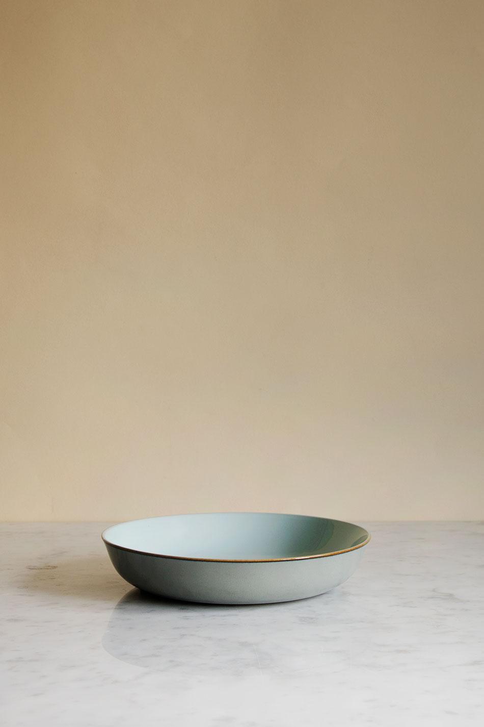 Soup Plate Light Blue / Smokey Blue