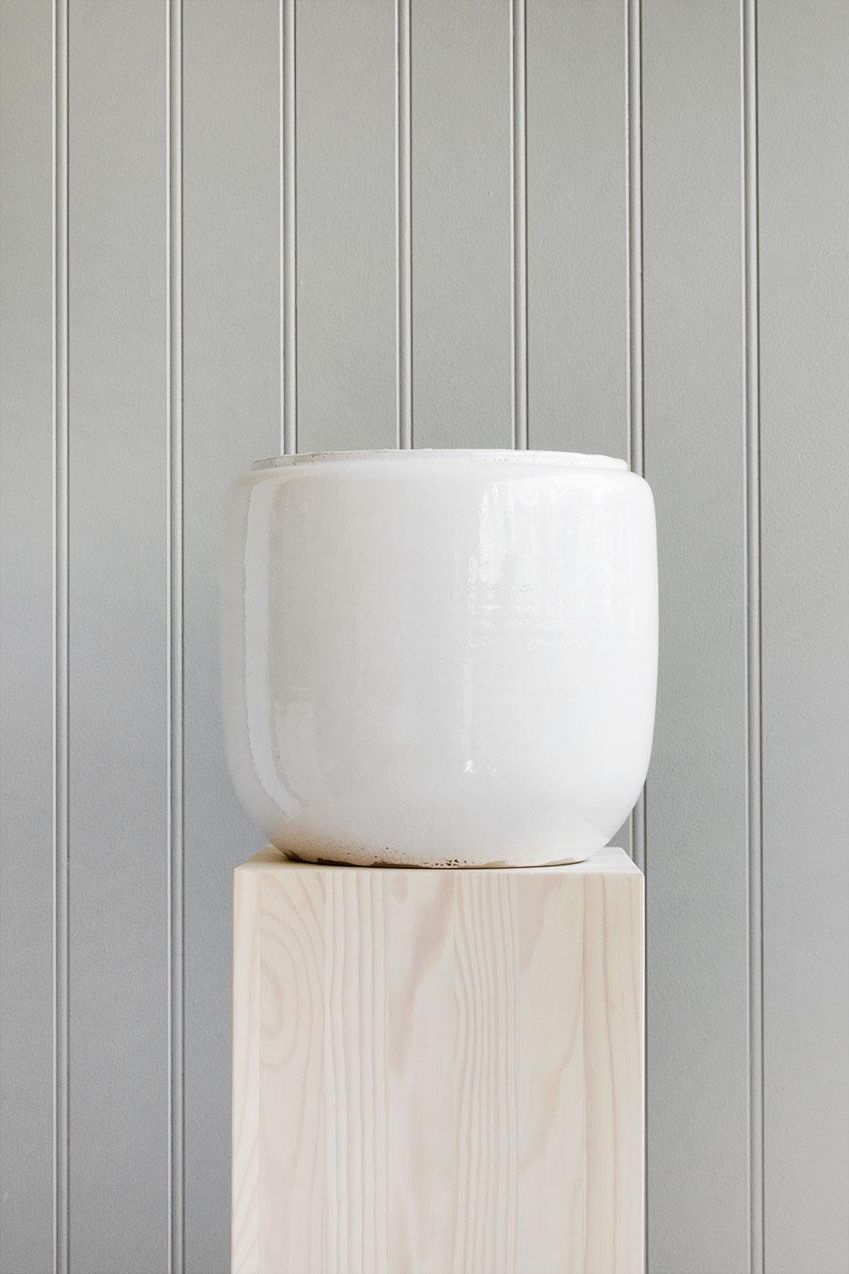 Custa Pot White Large