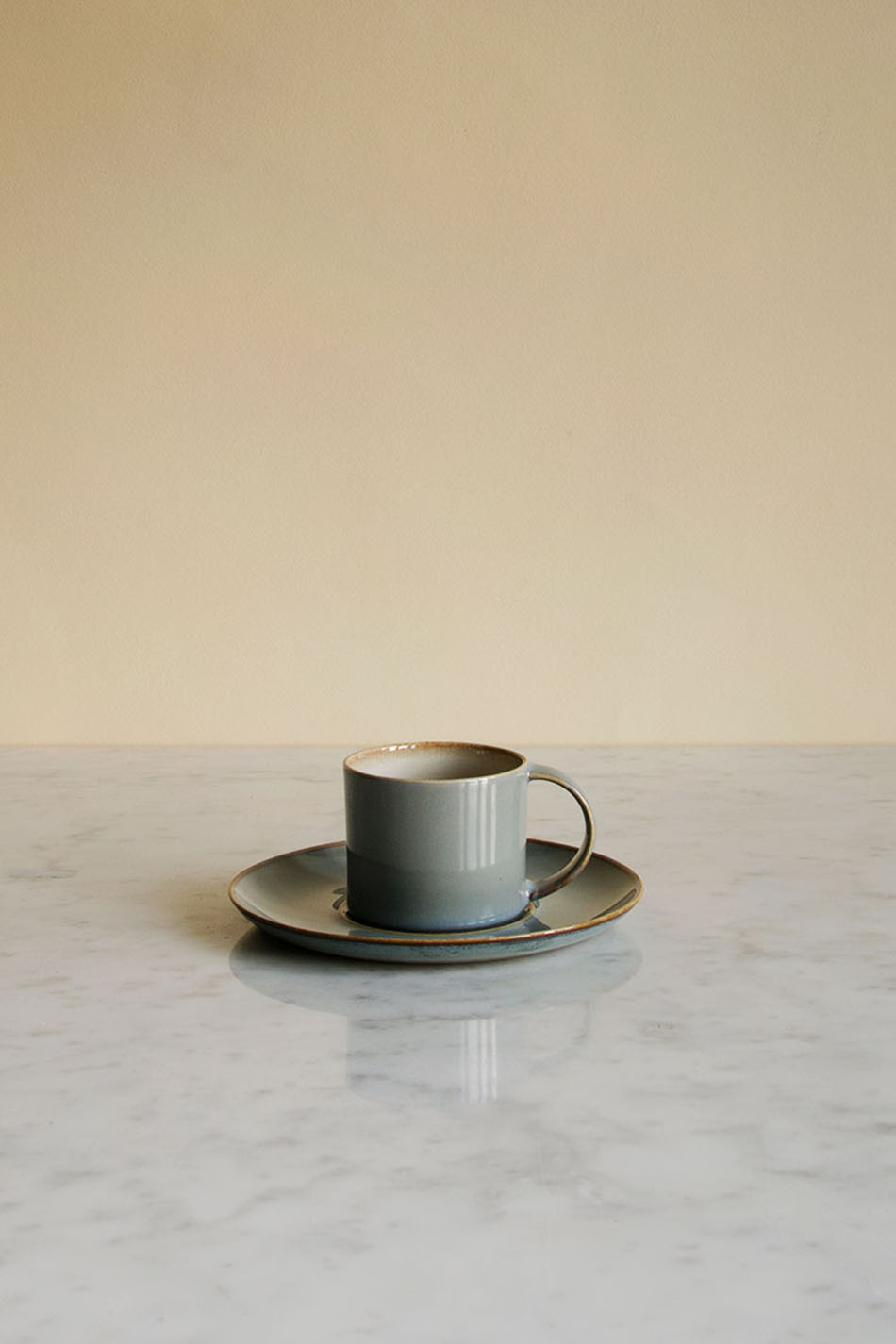 Le Cadere Espressokopp & Fat Misty Grey