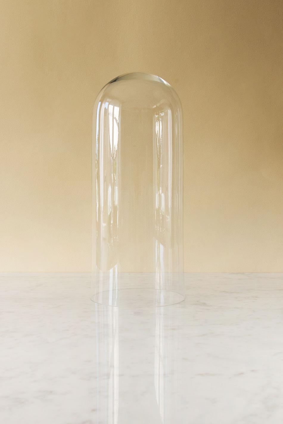 Glaskupa Ø17cm H40cm