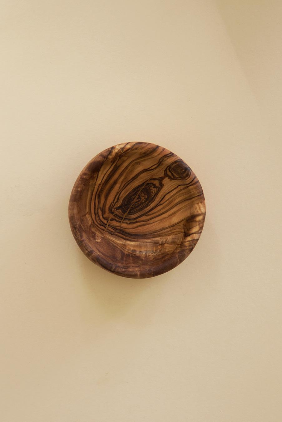 Miniskål i Olivträ Ø 0,9 cm