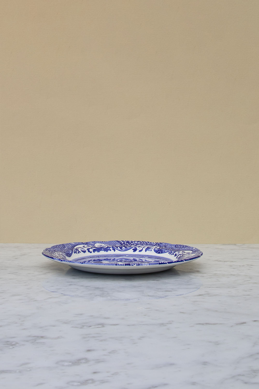Blue Italian Middagstallrik