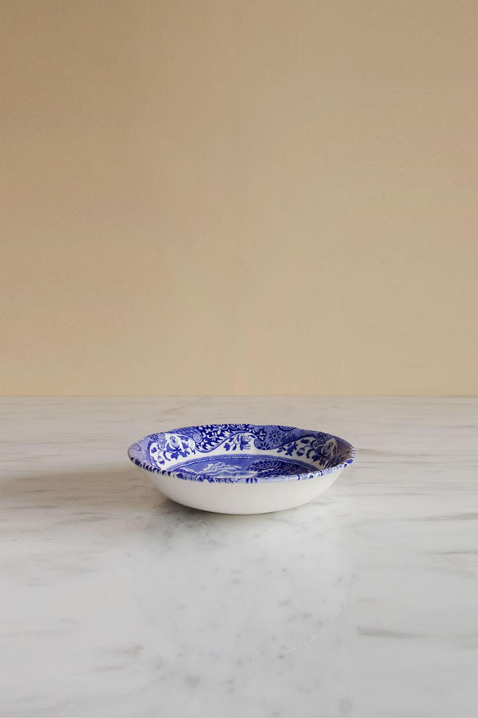 Blue Italian Frukostskål