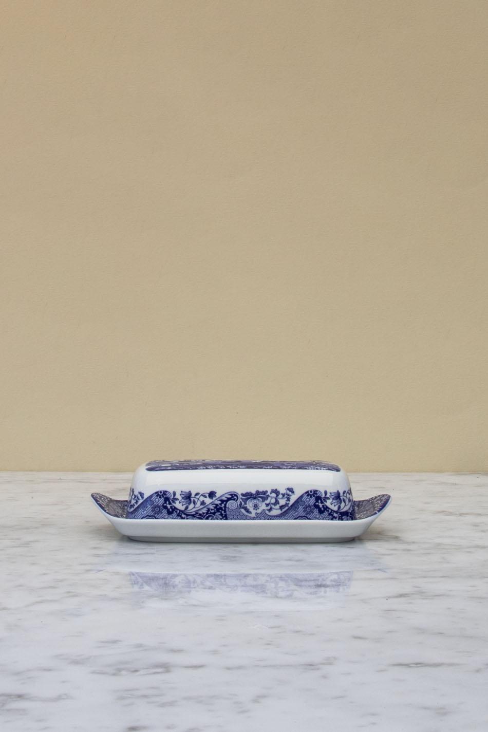 Blue Italian Smörbytta