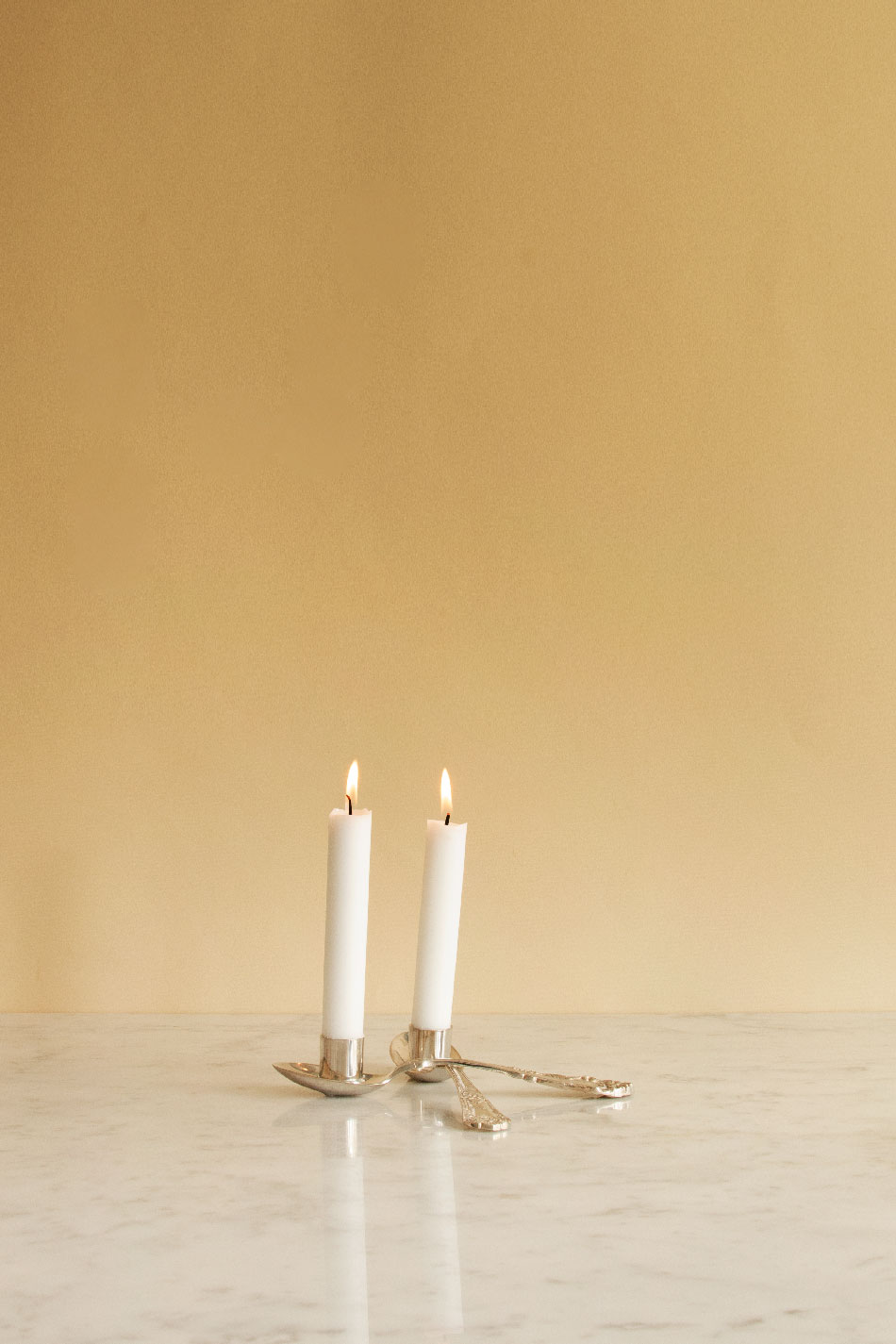 Spoons Candle Holder