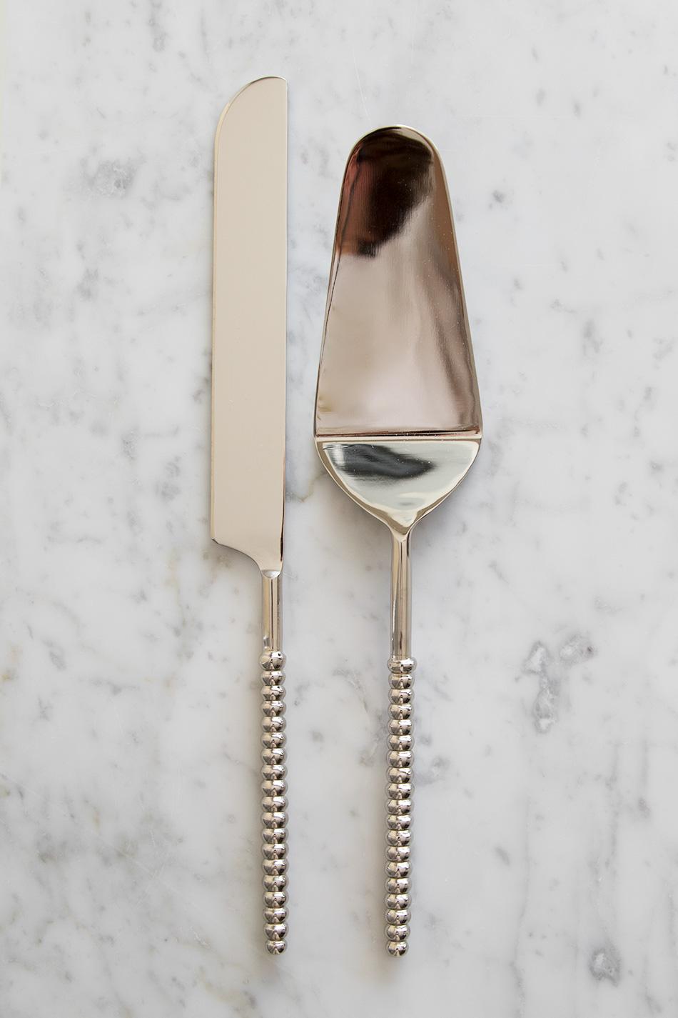 The Stripe Tårtspade & Kniv