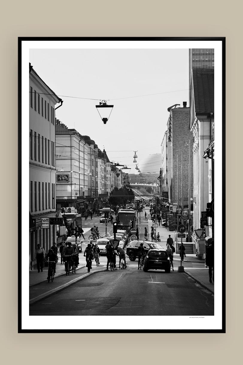 Götgatan 50x70cm