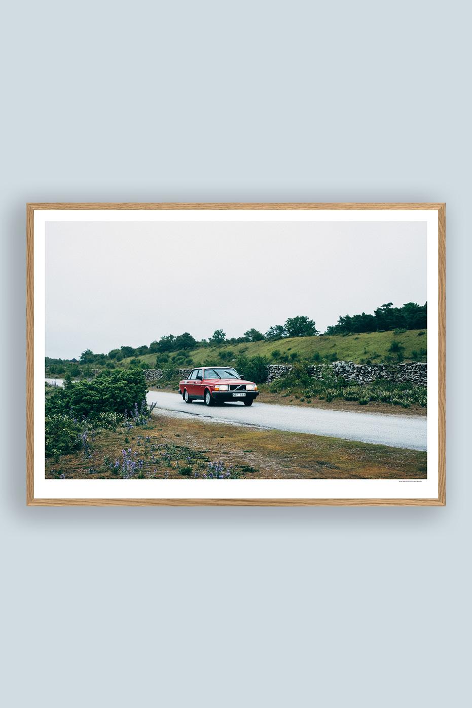 Volvo 240 50x70cm