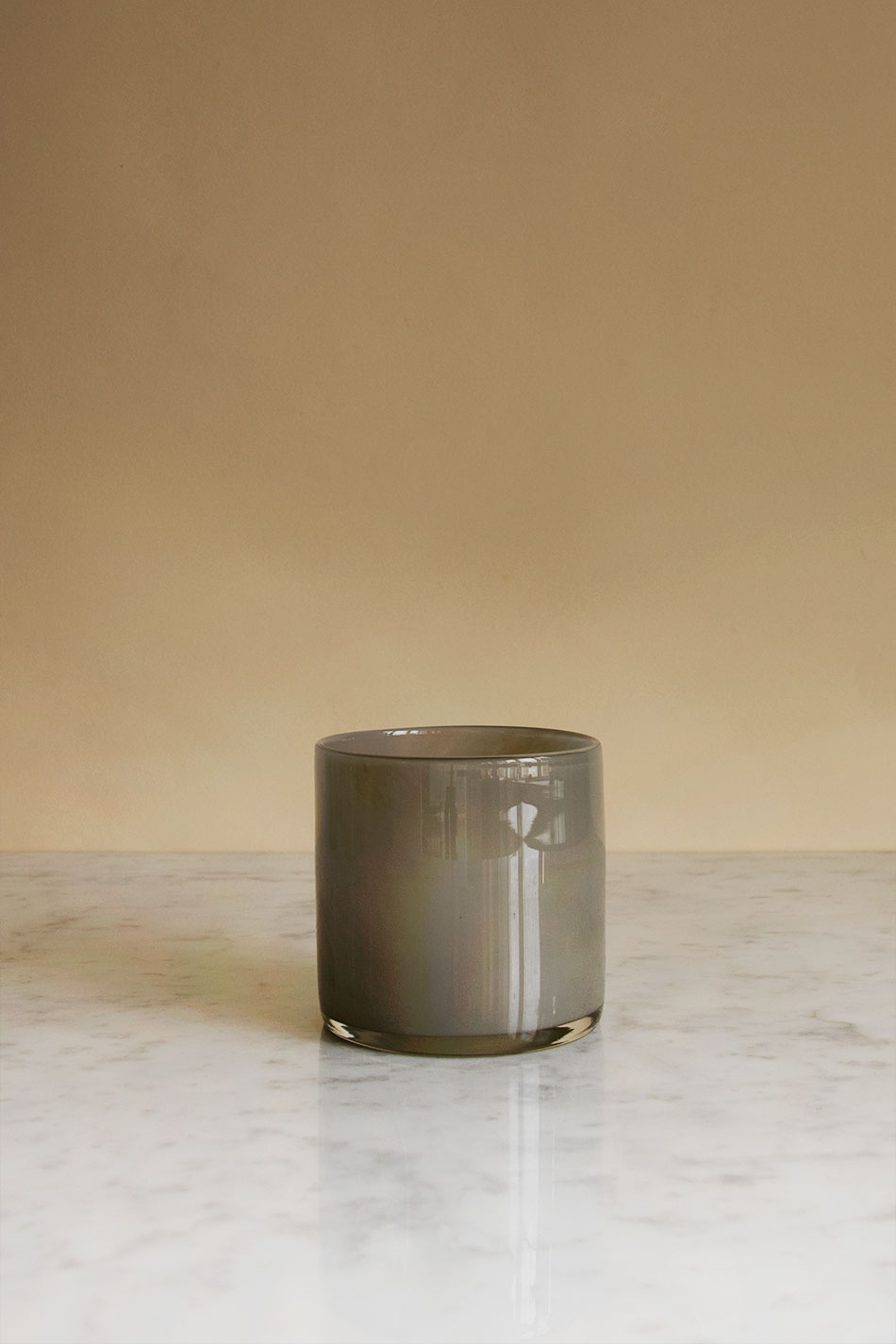 Candle Holder Grey Petit