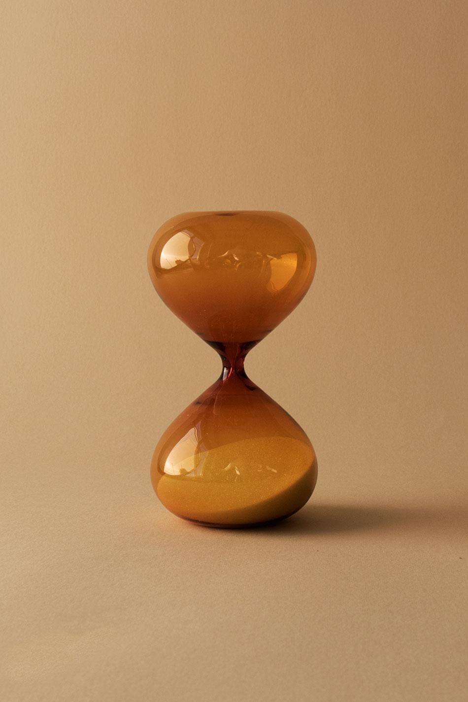 Timglas Amber 15 min