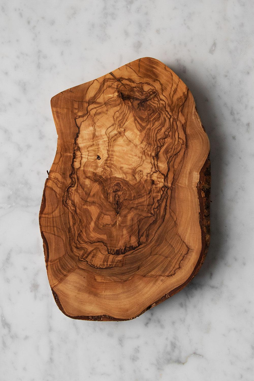 Rustic Trivet Olivträ M