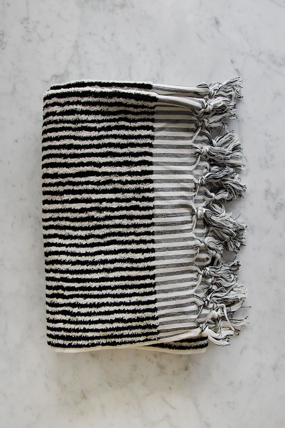 Turkish Cotton Frotté Stripe