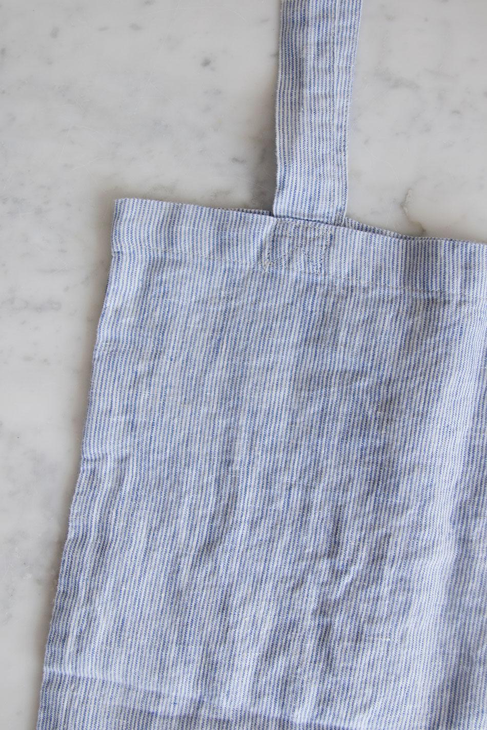 Tote Bag Blue Stripe