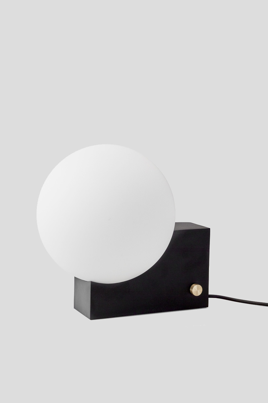 Journey Table & Wall lamp Black