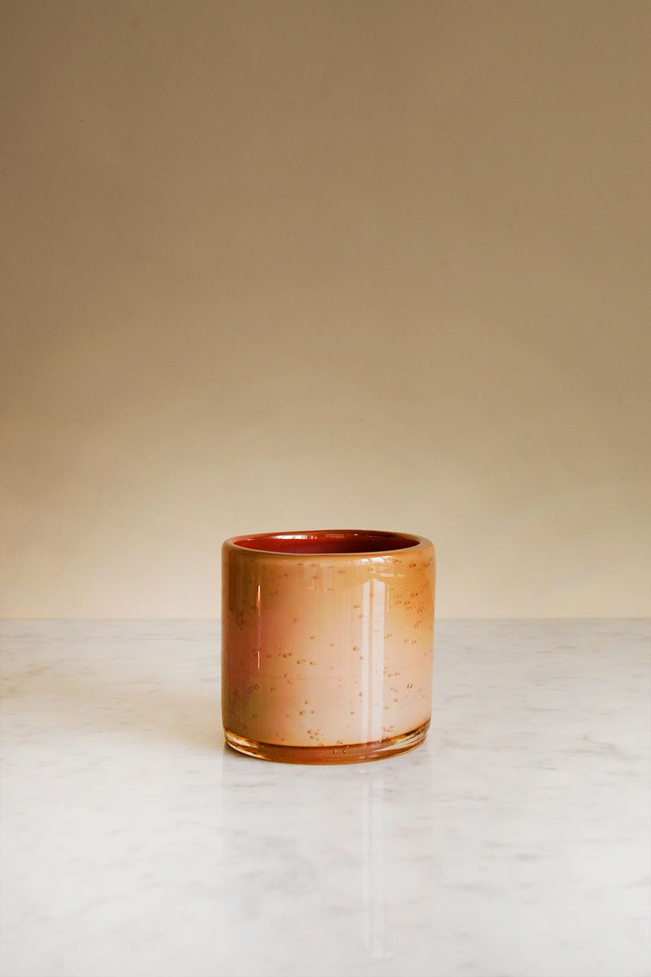 Candle Holder Aprikos