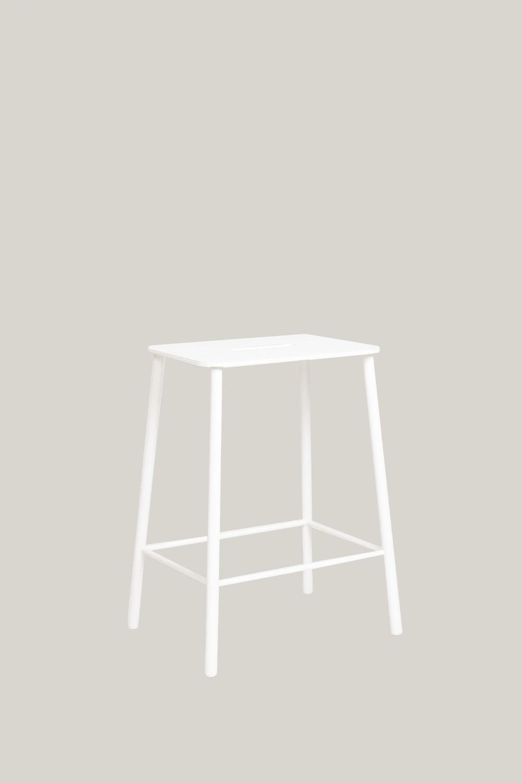 Adam Stool Mono Outdoor White H50cm