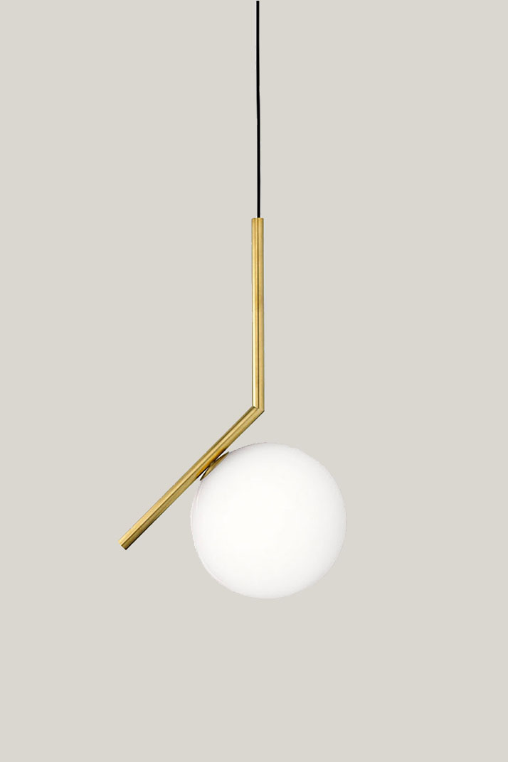 FLOS IC Light S1 Brass