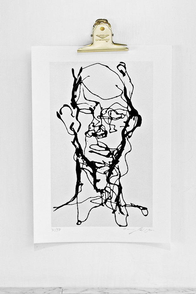 Ansikte Print 29,7x42 cm (A3)