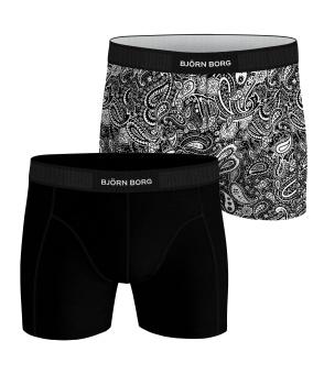 Core Boxer Black 2-Pack