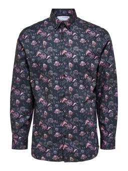 Formal Shirt Black Aop