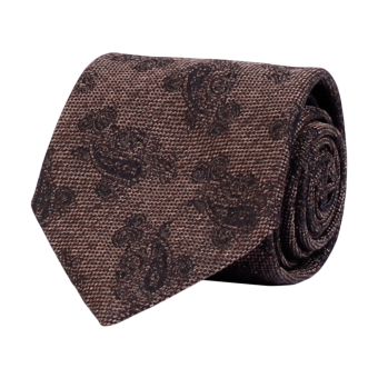 Classic Tie Brown Melange