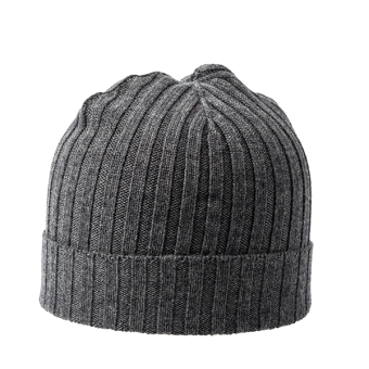 Knitted Beanie Anthracite