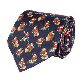 Classic Tie Christmas Navy