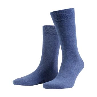 True Ankle Sock Denim Blue