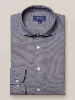 Contemporary Fit Tencel/Flannel Blå