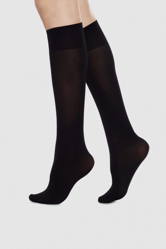 Ingrid Premium Knee High - Black
