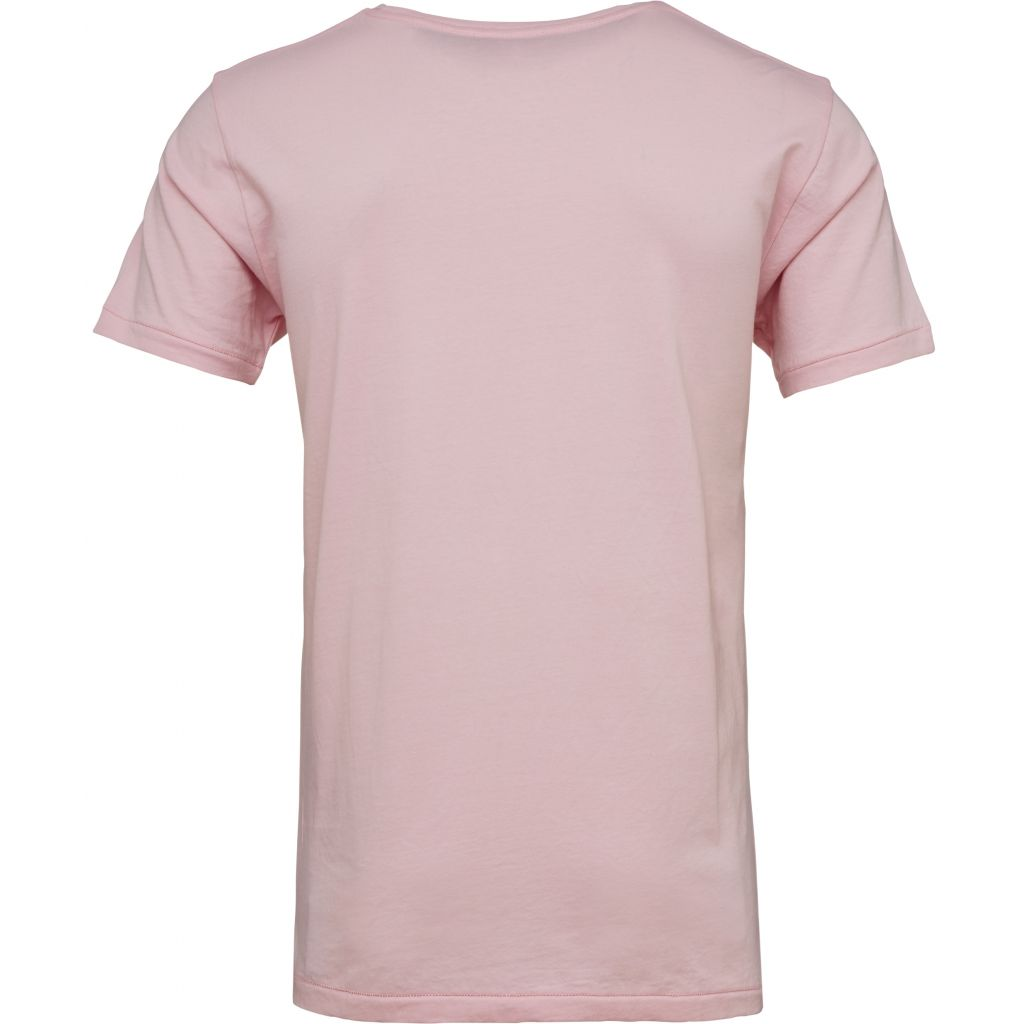 Basic Regular Fit O-Neck Tee - Orchid Pink