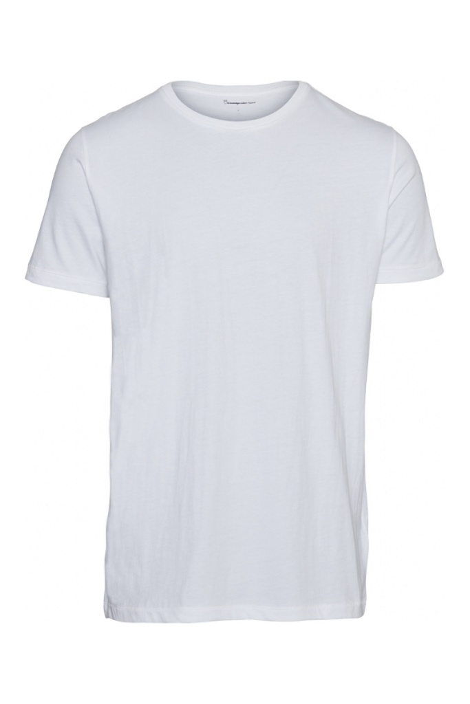 ALDER basic tee - Bright White - L