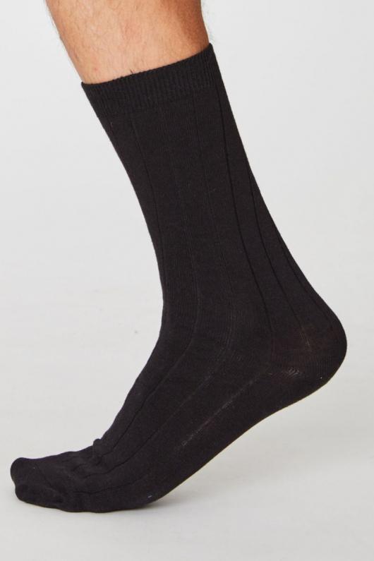 Hemp Socks - Black - 41-46
