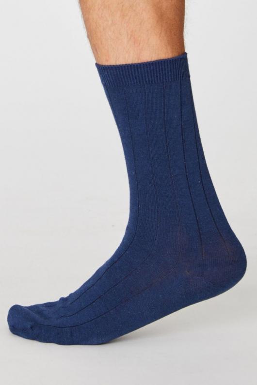Hemp Socks - Navy - 41-46