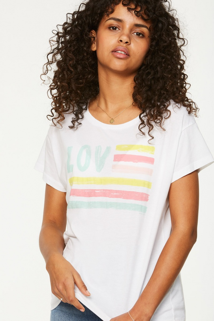 Nela Love & Stripes Color - L