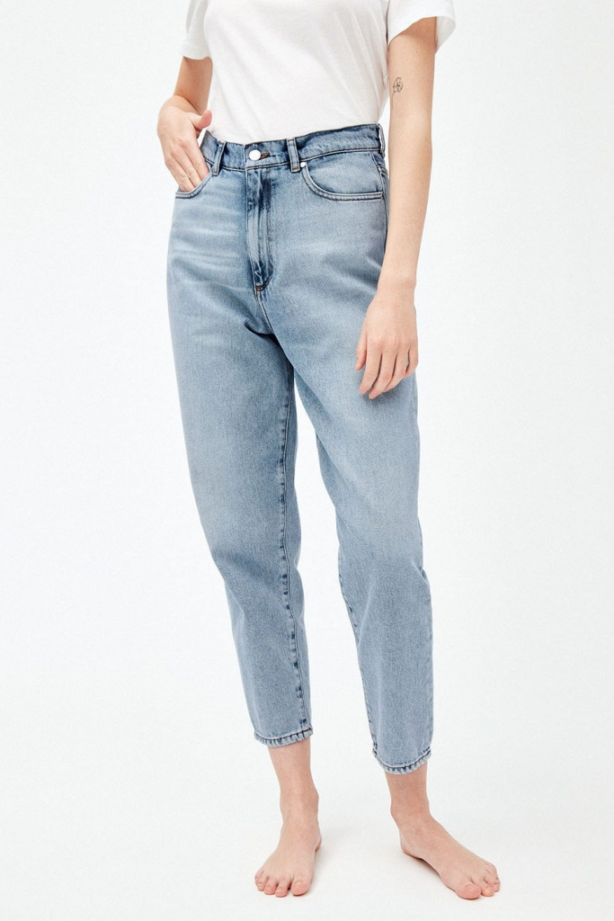 Mairaa Mom Fit - Faded Blue