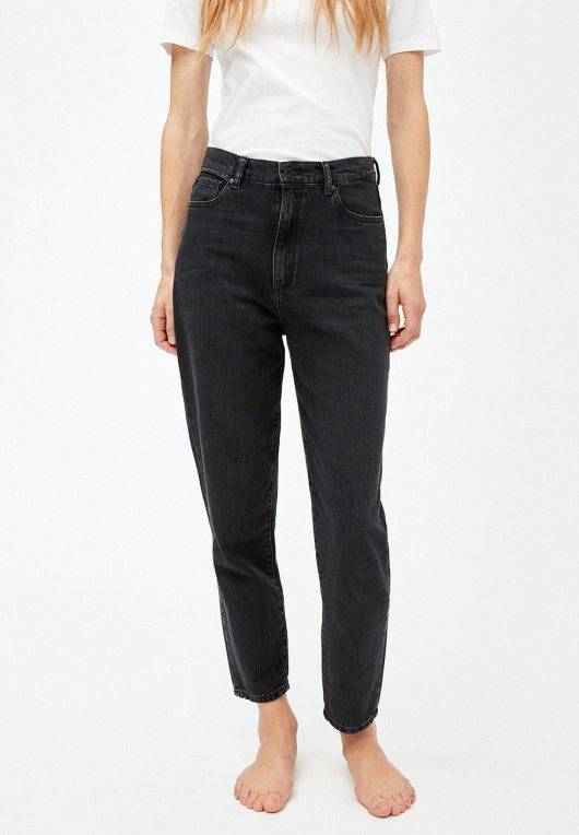 Mairaa Mom Fit - Washed Down Black