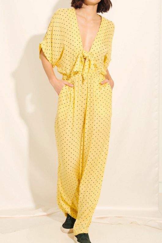 Donna Jumpsuit - Yellow - XS