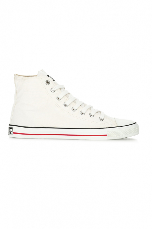 Fair Trainer Hi Cut - Just White - 41
