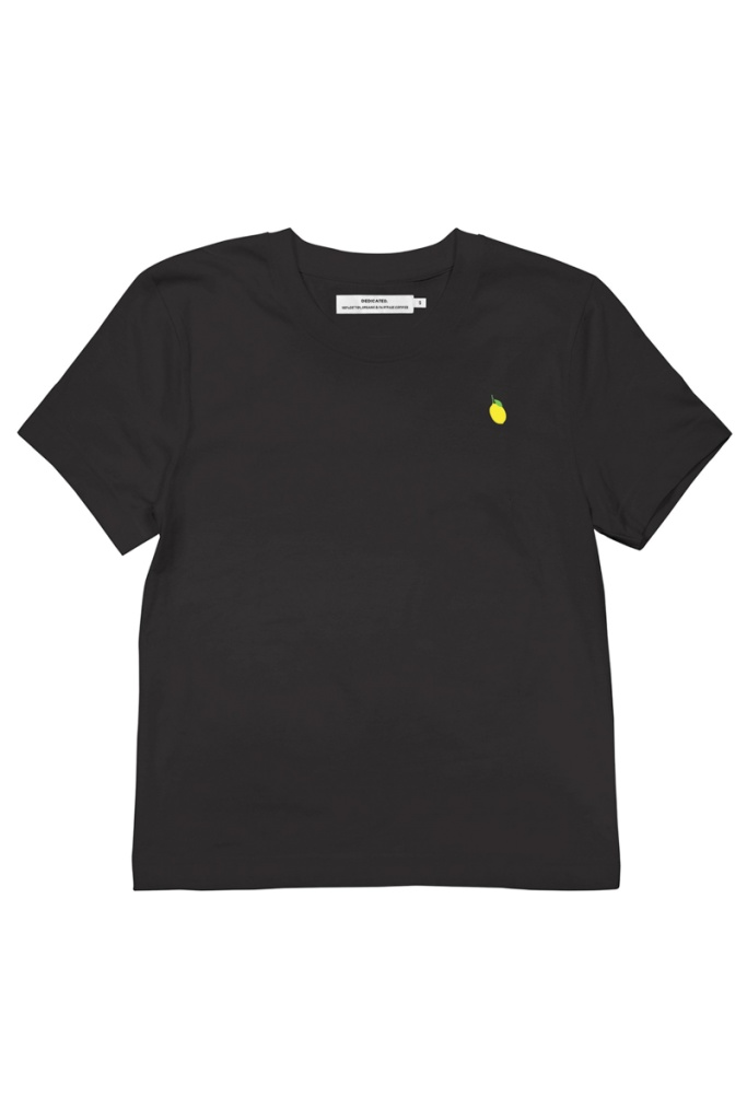 T-shirt Mysen Lemon - Black - S