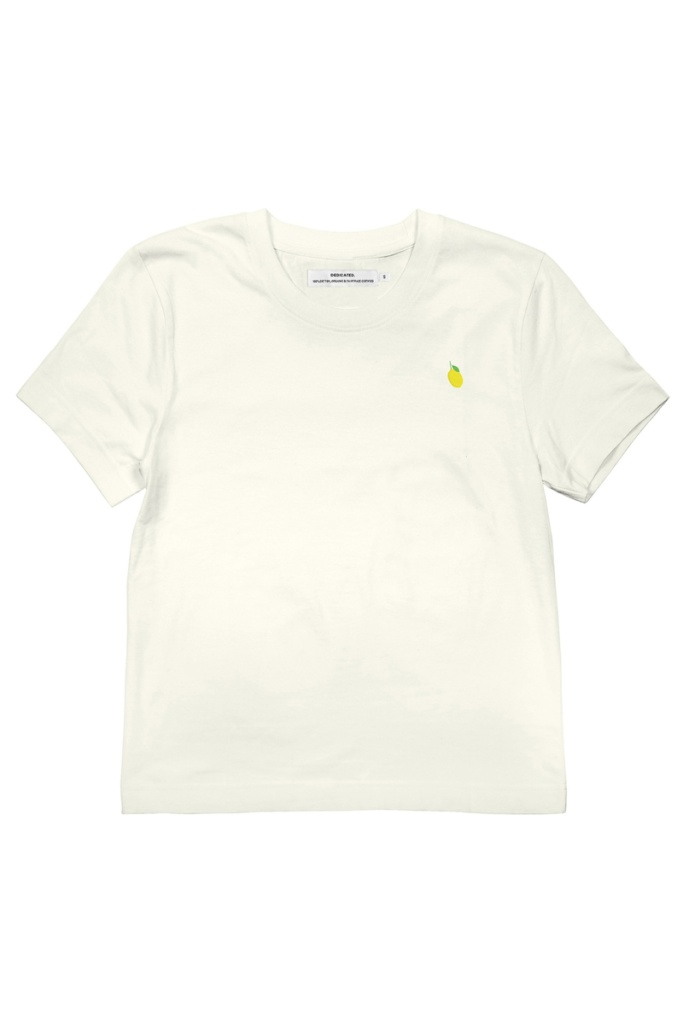 T-shirt Mysen Lemon - Off White - L