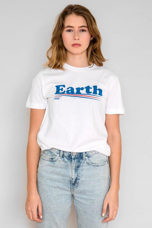 T-shirt Mysen Vote Earth - XS