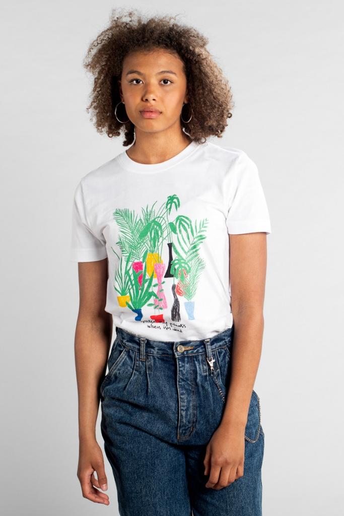 T-shirt Mysen Water My Plants - XL