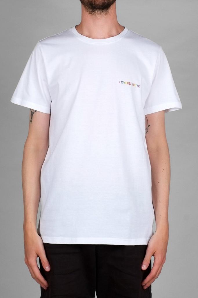 T-shirt Stockholm Lovers Unite - White - L