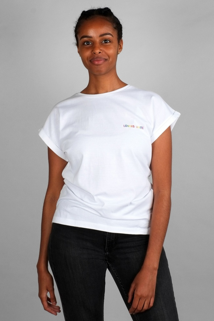T-shirt Visby Lovers Unite - White - L