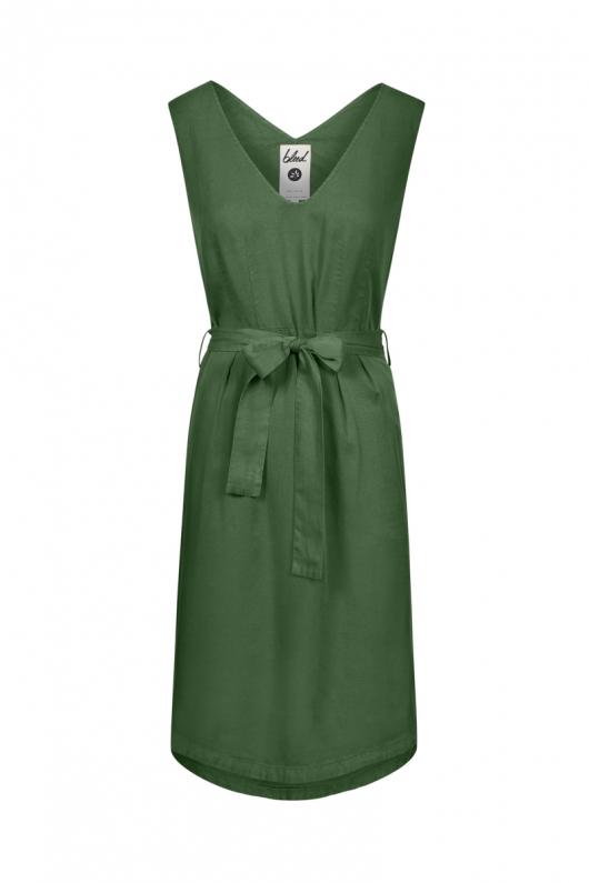 Light-Breeze TENCEL™ Dress - Dark Green - XL